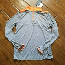 Under Armour youth size large heat gear gray orange nwt