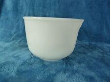 VTG Sunbeam Mixmaster Mixer Milk Glass Bowl #8 (came from model #12 mixer)