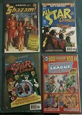 ALL-STAR COMICS 8 & 1 + SHAZAM ANNUAL 1 MARVEL FAMILY + BRAVE BOLD 28 REPRINTS