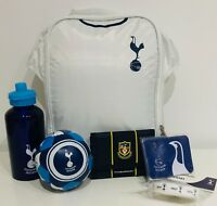 Tottenham Gift Set 6 pieces Lunch Bag,Drink Bottle, Ball, Wallet, Wristband etc