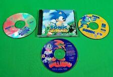 Lot of 4 Sonic the Hedgehog PC CD-ROM Games! SEGA 1997-1999 Windows 95 98