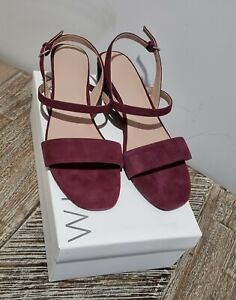 Witchery Orla Suede Wedge Size EUR 40, AUS 9, RRP $149.95 NEW
