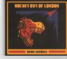 (FH145) Damn Vandals, Rocket Out Of London - 2014 CD