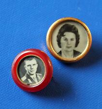 2 Abzeichen Kosmonauten Gagarin, Tereschkowa Kosmos Russland