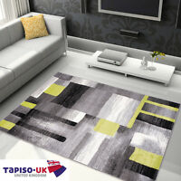 RUGS ABSTRACTION FOR LIVING ROOM BEST PRICES GEOMETRIC FIGURES PATTERN GREY