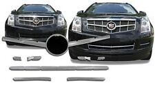 Chrome Grille Overlays FITS 2010 2011 2012 Cadillac SRX - 10 Pieces Kit