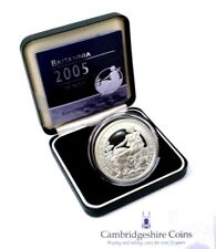 2005 Fine Silver Proof £2 Coin 1oz Britannia Box COA