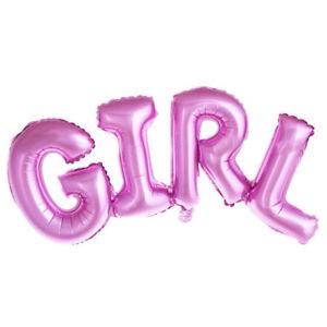 Boy Girl Happy Birthday Letter Aluminum Foil Balloon Birthday Party Dcoration