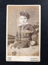 Victorian Carte De Visite CDV: Mason & Easton: Young Boy Smart Suit