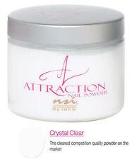 NSI Attraction Nail Powder Crystal Clear - 130 g (4.58 Oz.) - N7463