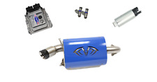 Evolution Powersports Evo Stage 5 ECU Flash Blue Magnum Exhaust RZR XP TURBO