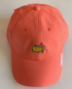 2021 Masters golf hat coral ladies fit performance american needle pga new