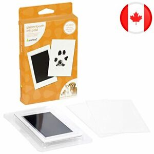 Pearhead Pet Paw Print Clean Touch Ink Pad and Imprint Cards, Perfect for Cats o