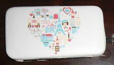 AMICI PARIS SMARTPHONE WALLET HOLDER CASE WITH WRISTLET NEW!