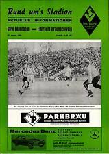 BL 83/84 SV Waldhof Mannheim - Eintracht Braunschweig, 28.01.1984 (RuS)