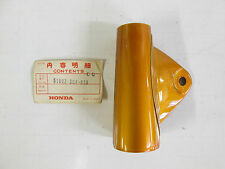 NOS Honda CB 125 Orange Headlight mount/Fork shroud