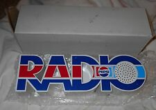 "PEPSI COLA LOGO RADIO ""UNUSED"" CONDITION NOS SPELLS RADIO WITH UNMARKED BOX"