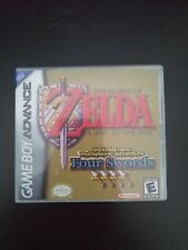 La Leyenda de Zelda a link to the Past Four Swords game Boy Advance GBA Genuino