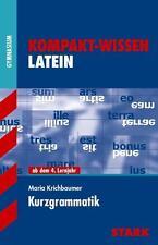 Kompakt-Wissen Latein - Kurzgrammatik von Maria Krichbaumer (2012, Taschenbuch)