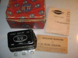NOS 12V Voltage Regulator 1956-60 Willys, Chrysler, DeSoto, Nash, Studebaker