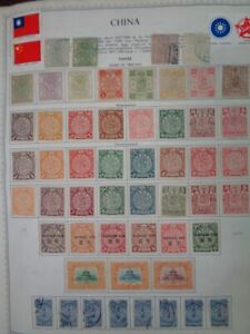 CHINA & Provinces Outstanding Mostly Mint Large Stamp collection 19th Century