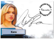 Inkworks Smallville Auto Autograph Card Adrianne Palicki Kara A24 A-24
