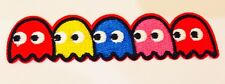 PACMAN 80's ARCADE GAME ~ 🎮 Quality Iron On Patch Badge Motif MELBOURNE SELLER