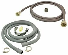 for ZANUSSI Dishwasher Fill Water & Waste Drain Hose Extension Kit 2.5m