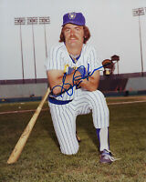 1982 BREWERS Gorman Thomas signed 8x10 photo AUTO Autographed Milwaukee Slugger