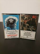 Lot of 2 Bob Dylan Cassette Tapes - Greatest Hits Vol II - The Basement Tapes