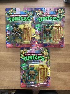 TMNT Classic Basic Walmart Nickelodeon Exclusive Playmates Ninja Turtles Lot 3