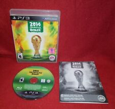 2014 FIFA World Cup Brazil (Sony PlayStation 3 PS3, 2014)