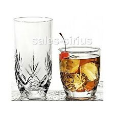 Drinking Glasses Set 16 Pc Drinkware Tumbler Drinks Glass Glassware Tumblers Tea