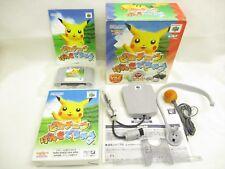 PIKACHU GENKIDE CHU Limited Edition Ref/0401 Nintendo 64 Import Japan Game n6