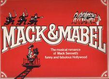 """Mack & Mabel""  Souvenir Program  1974  FLOP  Bernadette Peters & Robert Preston"