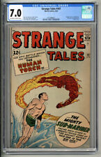 STRANGE TALES #107 CGC FN/VF 7.0 1963 MARVEL COMICS SUB-MARINER HUMAN TORCH