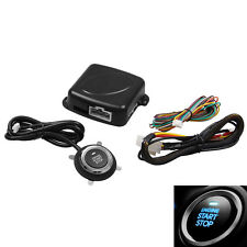 Car Engine Push Start Button Engine Start Stop Engine lock Ignition Starter Kit