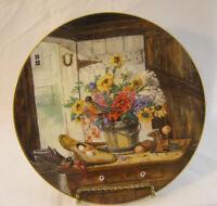 The Morning Bouquet Flowers from Grandma's Garden Glenna Kurz W.S. George plate