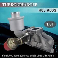 Turbo Charger K03 for 1.8L 1.8T DOHC 1998-2005 VW Beetle Jetta Golf Audi TT