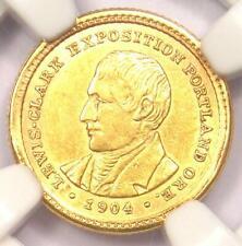 1904 Lewis & Clark Gold Dollar G$1 - Certified NGC AU Detail - Rare Coin!