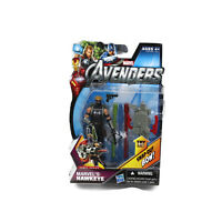 """MARVEL'S HAWKEYE The Avengers Movie Comic Series 4"""" inch Action Figure #5 2012"""