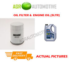 PETROL OIL FILTER + C1 5W30 ENGINE OIL FOR MAZDA 6 2.5 170 BHP 2009-12