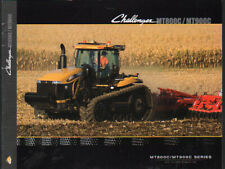AGCO Challenger MT800C Tracked and MT900C Articulated Tractor Brochure Leaflet
