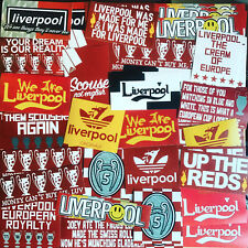 100 x Liverpool Stickers inspired by Shirt Scarf Badge Flag Banner Anfield LFC
