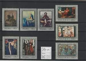 Polen postfris 1968 MNH 1864-1871 - Kunst / Art