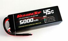 RoaringTop LiPo Battery Pack 45C 5000mAh 3S1P 11.1V HardCase with Leads Out