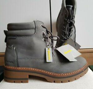 Bench Damen Boots grau Neu