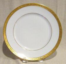 Ceralene Limoges Ambassador Gold Luncheon Plate