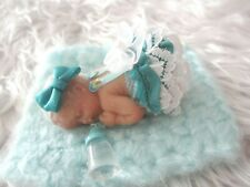 Polymer Clay Miniature Ooak Baby, Micaela