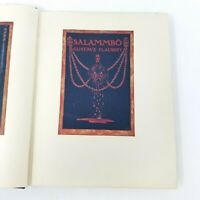 Salammbo Gustave Flaubert, Limited Edition English # 84 of 500, Rare Ed. 1930